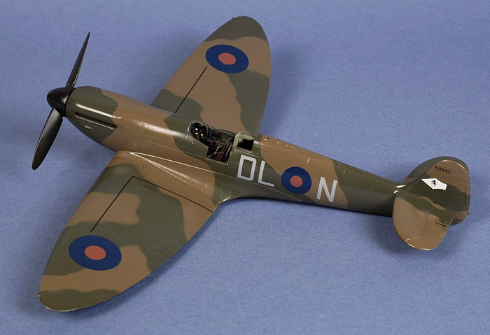 Supermarine Spitfire Mk I by Brett Green (Airfix 1/48)