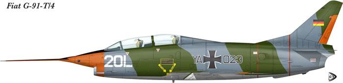 "G-91 T-4 ""Experimental"" German Air Force"