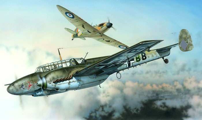 Messerschmitt Bf 110 C Review By Brett Green Eduard 1 48