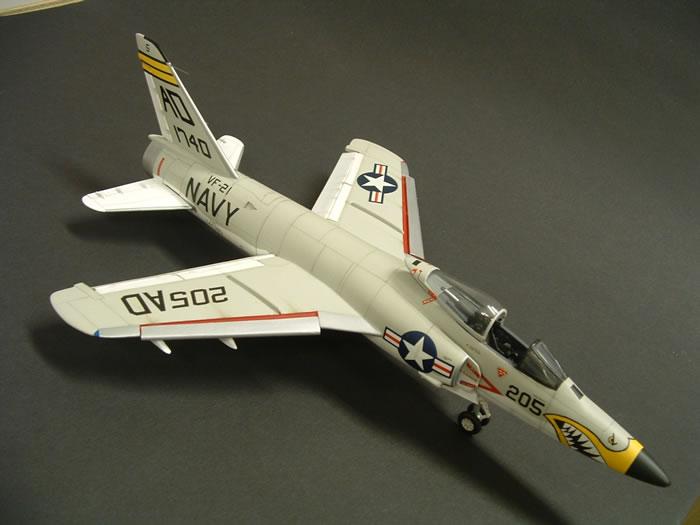 F11F Tiger by Frank Martinez (Scratch Built 1/48)