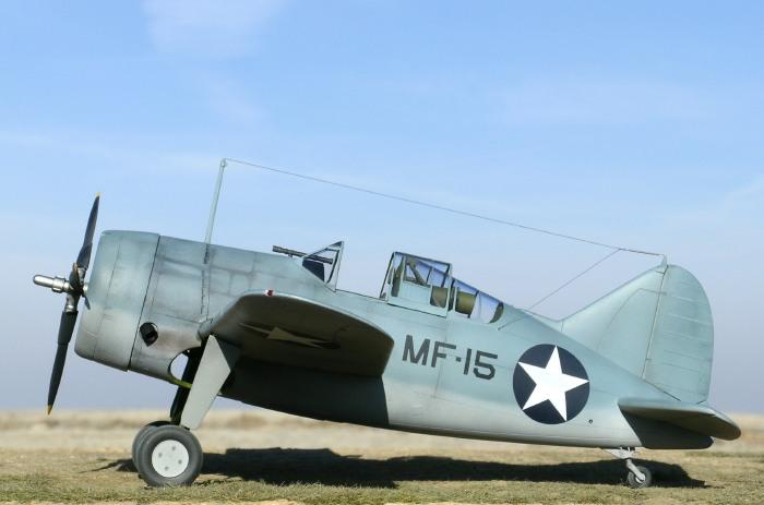 F2a3 Buffalo By Ian Robertson Czech Model 1 32