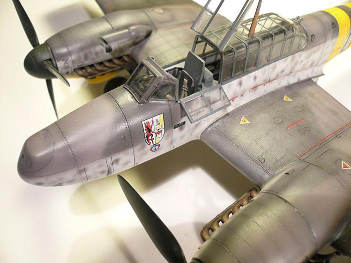 Messerschmitt Bf 110 G 2 R3 By Peter Kormos Revell 1 48