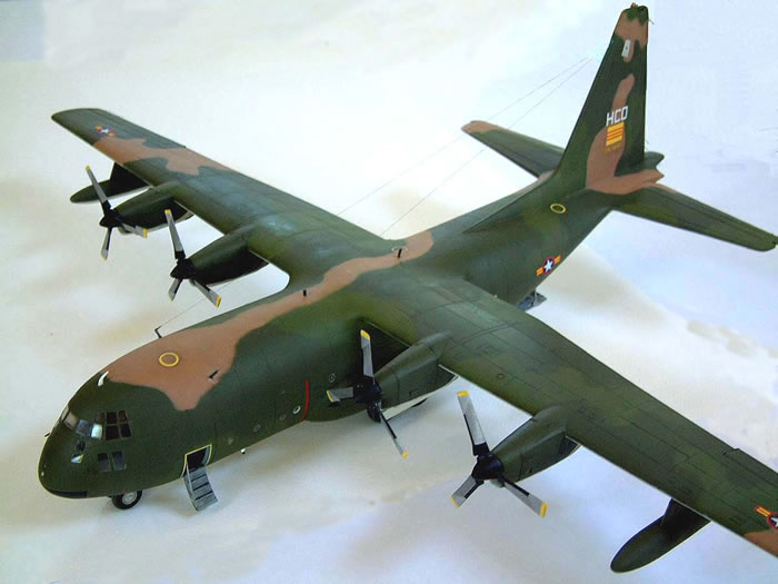 C 130a Hercules By Let Model Mpc 1 72