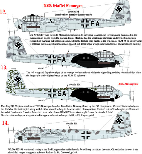Junkers Ju 88 G-6 Decal Preview (AIMS 1/48