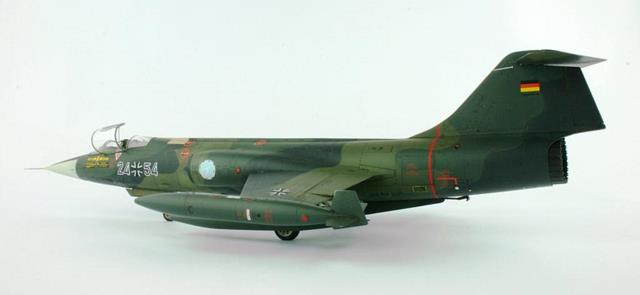 hasegawa s 1 48 scale f 104g starfighter by andy brown