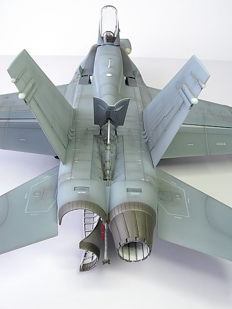 Academy 1 32 scale F A 18A Hornet by Steve Pritchard