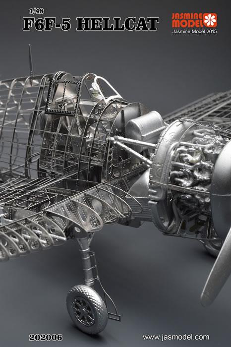 Jasmine Model Kit No. 202006 - F6F-5 Hellcat Review by James Hatch
