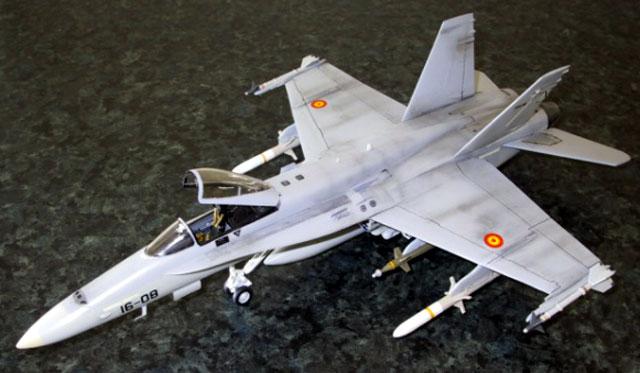 Spanish F 18 Hornet By Mike Aldridge Monogra 1 48