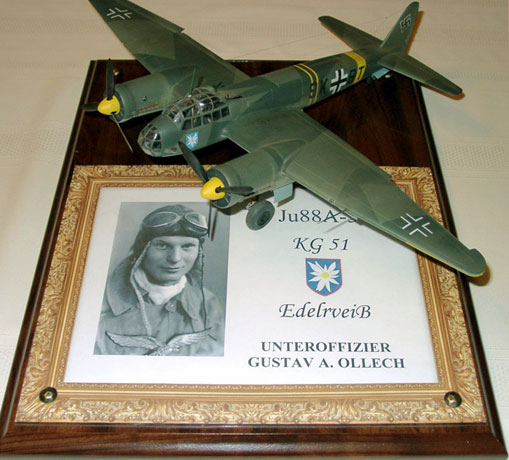 Junkers Ju 88A-5 By William Dedig (Dragon And MDC 1/48