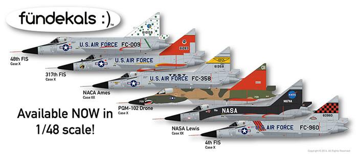 fündekals Preview - 1/48 F-102