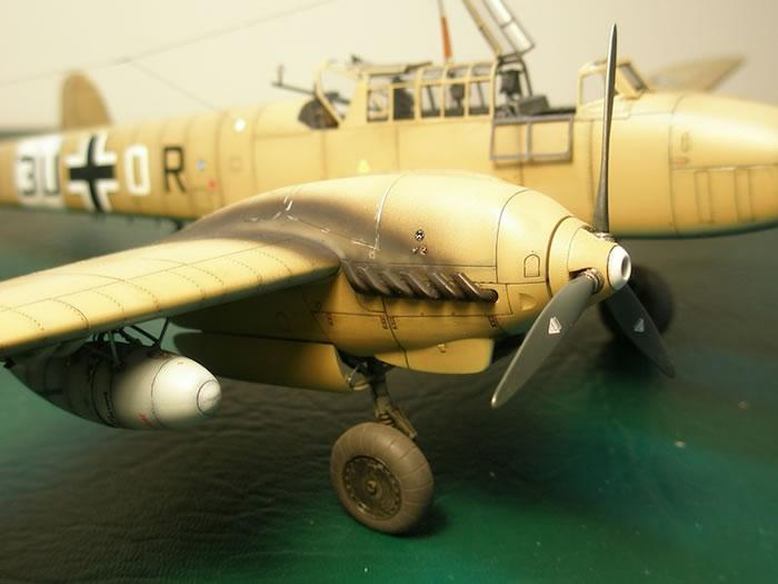 Eduard 1 48 Scale Messerschmitt Bf 110 E 2 Trop By Stan Traas