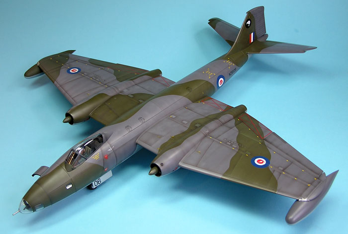 Canberra B(I)8 by Spencer Pollard (Airfix 1/48)