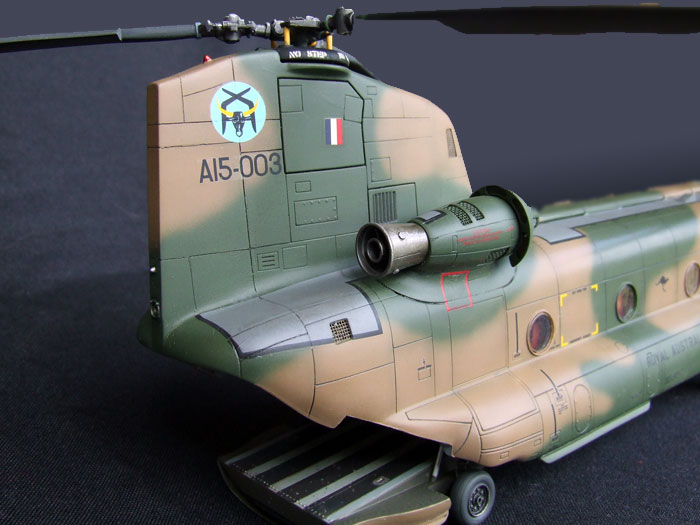 1//48 Aircraft CH47C//HC1 Chinook Cargo Interior for ITA