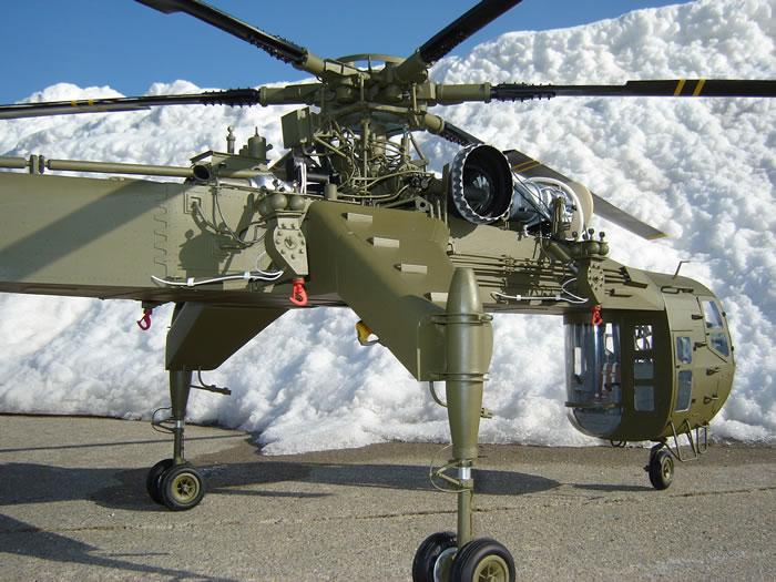 Scratch Built 1 18 Scale Sikorsky Ch 54b Skycrane By Ron