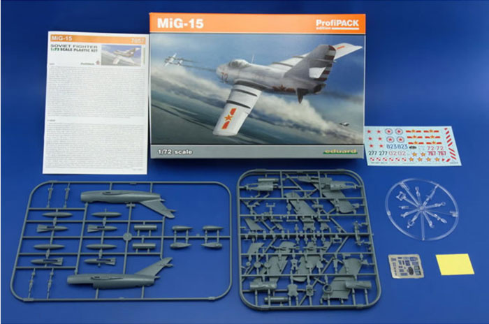 Eduard Kit No 7057 Mig 15 Profipack Edition Review By