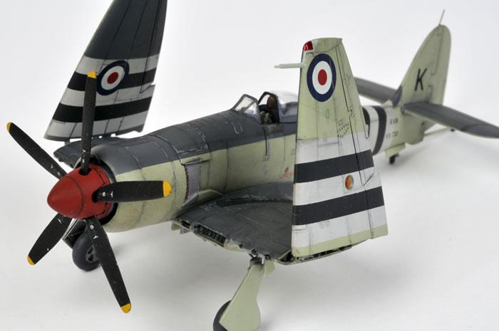 Sea Fury Fb 11 By Glen Porter Trumpeter 1 72