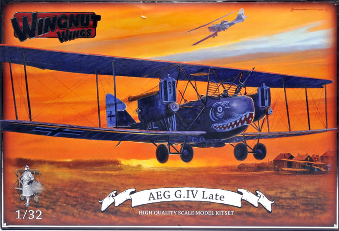 Wingnut Wings 1 32 Scale 32042 Aeg G Iv Late Review By